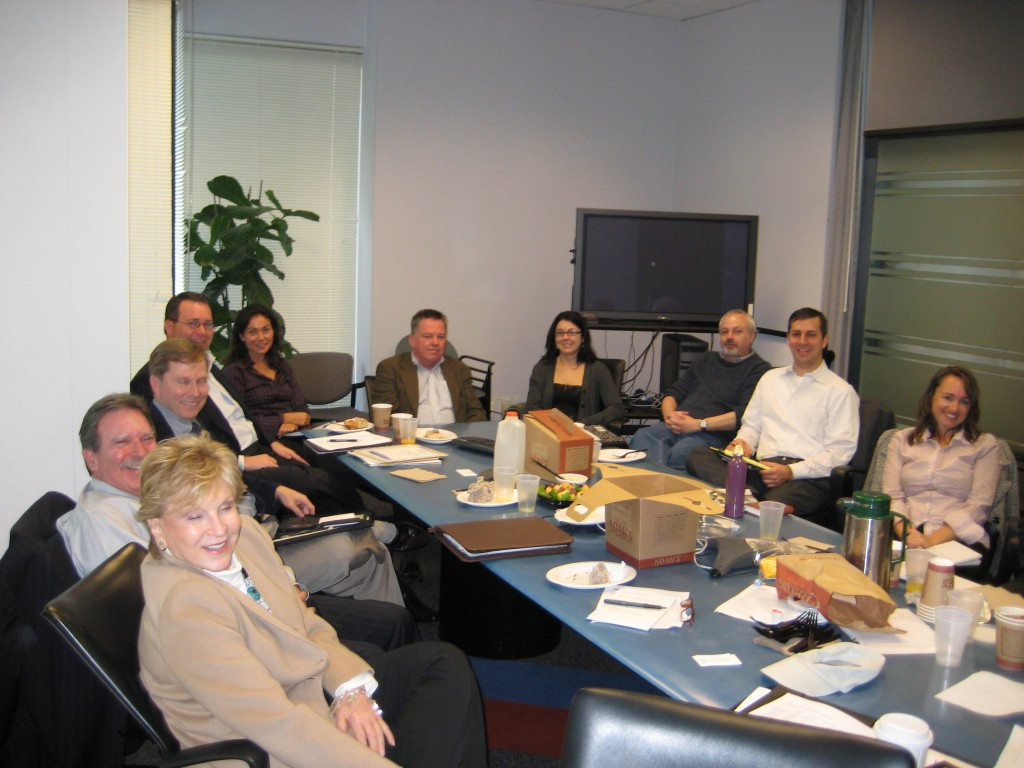 WPA Roundtable, San Francisco (2/09), even though the table is not round.....