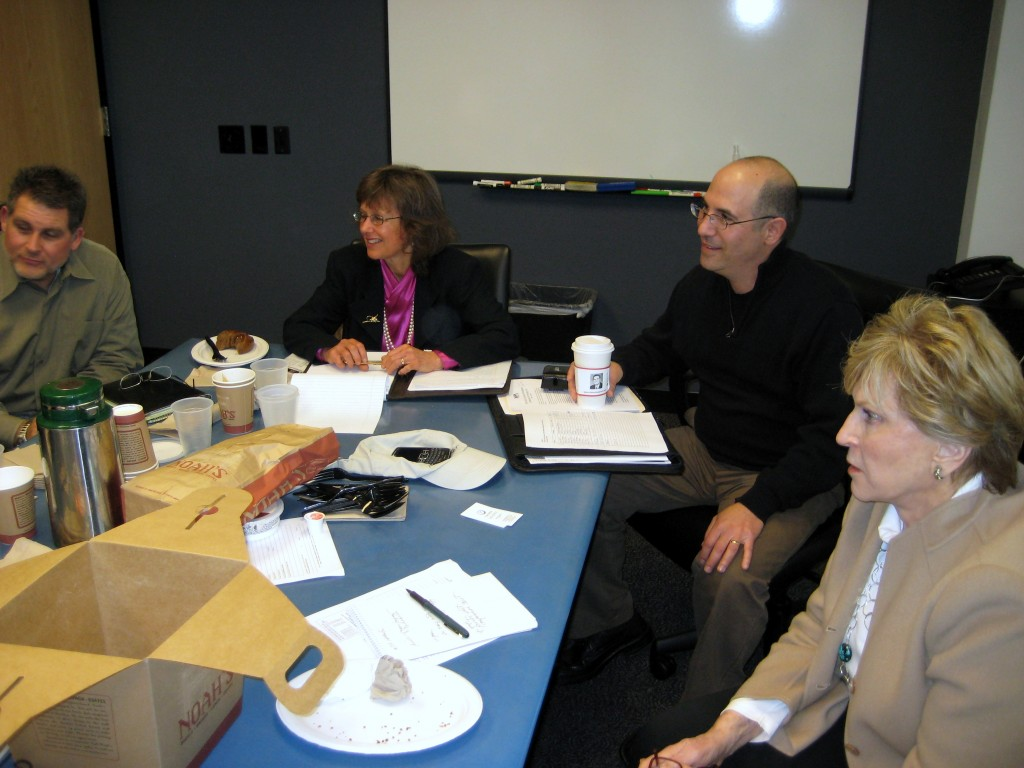 Dave Kalman and Kathi Simonsen host a WPA Roundtable (2/09)